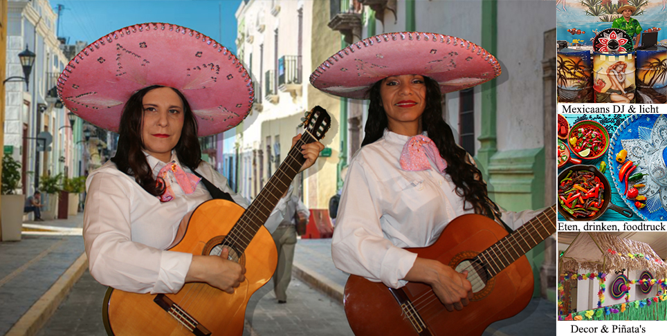 Pink mariachis
